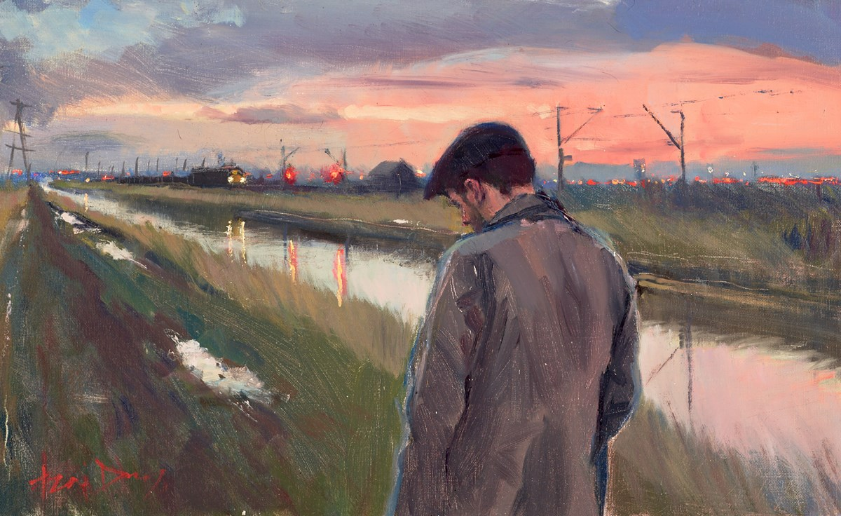 The Tow Path (study)